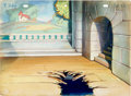 Animation Art:Production Drawing, Carmen's Veranda Production Background Group (Terrytoons,1944).... (Total: 2 Items)