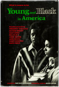 Books:Biography & Memoir, Rae Pace Alexander, editor. What It Means to be Young and Blackin America. New York: Random House, [1970]. Publishe...