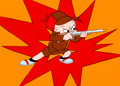 """Animation Art:Production Cel, Bugs Bunny Bustin' Out All Over """"Portrait of the Artist as aYoung Bunny"""" Baby Elmer Fudd Production Cel and Backgroun...(Total: 2 Original Art)"""