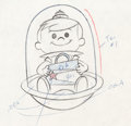 Animation Art:Production Drawing, The Jetsons Elroy Jetson Production Drawing (Hanna-Barbera, 1962)....