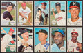 Autographs:Sports Cards, Signed 1964 Topps Giants Baseball Stars & Hall of Famers Group(10). ...