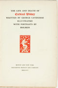 Books:Biography & Memoir, [Hans Holbein, illustrator]. George Cavendish. The Life and Death of Cardinal Wolsey. Boston: Houghton Mifflin, 1905...