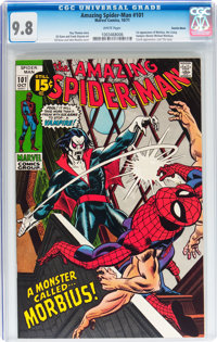 The Amazing Spider-Man #101 Suscha News pedigree (Marvel, 1971) CGC NM/MT 9.8 White pages
