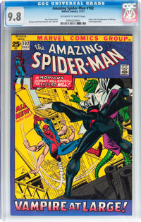 The Amazing Spider-Man #102 (Marvel, 1971) CGC NM/MT 9.8 Off-white to white pages