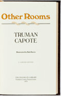 Books:Literature 1900-up, Truman Capote. SIGNED. Other Voices, Other Rooms. FranklinCenter: The Franklin Library, 1979. Signed by the autho...
