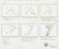 Animation Art:Production Drawing, Sesame Street Shorts Storyboard Group (Pantomime Pictures,1980).... (Total: 18 Original Art)