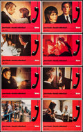 """Movie Posters:Thriller, Klute (Warner Brothers, 1971). Lobby Card Set of 8 (11"""" X 14""""). Thriller.. ... (Total: 8 Items)"""