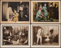 """Movie Posters:Crime, The Sable Lorcha & Others Lot (Triangle, 1915). Lobby Cards (4)(11"""" X 14""""). Crime.. ... (Total: 4 Items)"""