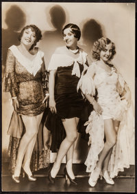 Yola d'Avril, Fifi D'Orsay & Sandra Ravel in Those Three French Girls by George Hurrell (MGM, 1930). Trimmed Pin...