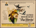 "Movie Posters:Hitchcock, The Birds (Universal, 1963). Half Sheet (22"" X 28""). Hitchcock....."