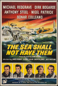 "Movie Posters:War, The Sea Shall Not Have Them (Rank, 1954). British One Sheet (27"" X40""). War.. ..."