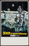 "Movie Posters:Science Fiction, 2001: A Space Odyssey (MGM, 1968). Midget Window Card (9"" X 14.5"")Cinerama Style. Science Fiction.. ..."