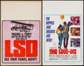 Movie Posters:Documentary, The Weird World of LSD & Other Lot (American Entertainment Association, 1967). Locally Produced Window Card & Window Card (1... (Total: 2 Items)