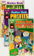 Bronze Age (1970-1979):Cartoon Character, Richie Rich Profits #1-47 Complete Run Group (Harvey, 1974-82)Condition: Average VF/NM.... (Total: 47 Comic Books)