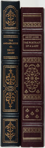 Books:Literature Pre-1900, Henry James. The Ambassadors [and:] The Portrait of a Lady. Franklin Center: Franklin Library, [1981... (Total: 2 Items)