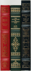 Books:Literature Pre-1900, Group of Three Literary Classics. Franklin Library/Oxford,[1979-1987]. Includes works by Twain, Dickens and Poe.Publishers... (Total: 3 Items)