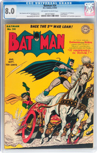 Batman #24 (DC, 1944) CGC VF 8.0 Off-white to white pages