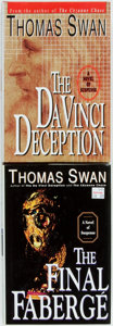 Books:Mystery & Detective Fiction, Thomas Swan. Pair of First Hardcover Edition Books. New York:Newmarket, [1998-1999]. Includes: The Da Vinci Deception[... (Total: 2 Items)