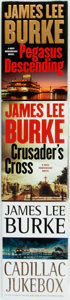 Books:Mystery & Detective Fiction, James Lee Burke. Group of Three First Edition Books. Variouspublishers, [1996-2006]. Includes: Cadillac Jukebox; Crusader...(Total: 3 Items)