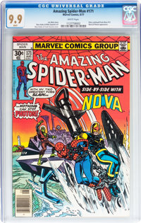 The Amazing Spider-Man #171 (Marvel, 1977) CGC MT 9.9 White pages