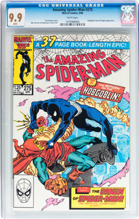The Amazing Spider-Man #275 (Marvel, 1986) CGC MT 9.9 White pages