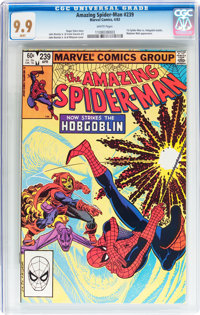 The Amazing Spider-Man #239 (Marvel, 1983) CGC MT 9.9 White pages