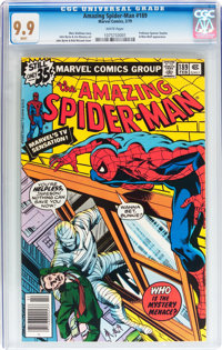 The Amazing Spider-Man #189 (Marvel, 1979) CGC MT 9.9 White pages