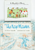 Books:Children's Books, [Children's Books]. Pair of First Edition Children's Books. Variouspublishers, [1979-1998]. Includes: The Nap Master [a...(Total: 2 Items)