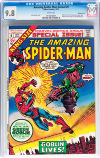 The Amazing Spider-Man Annual #9 Western Penn pedigree (Marvel, 1973) CGC NM/MT 9.8 White pages