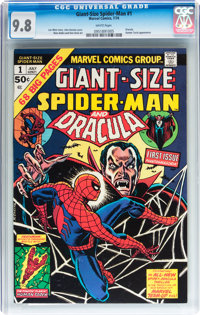 Giant-Size Spider-Man #1 (Marvel, 1974) CGC NM/MT 9.8 White pages