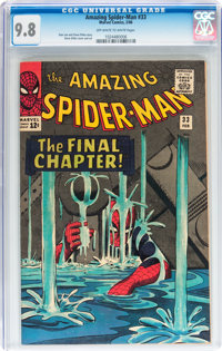 The Amazing Spider-Man #33 (Marvel, 1966) CGC NM/MT 9.8 Off-white to white pages