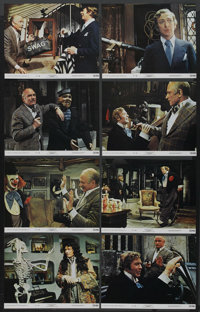 "Sleuth (20th Century Fox, 1972). Lobby Card Set of 8 (11"" X 14"") and Pressbook (Multiple Pages). Mystery..."