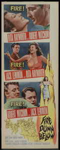 "Movie Posters:Adventure, Fire Down Below (Columbia, 1957). Insert (14"" X 36""). Adventure...."