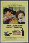 """Movie Posters:Western, Rooster Cogburn (Universal, 1975). One Sheet (27"""" X 41""""). Western. ..."""