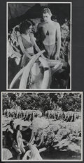 "Movie Posters:Adventure, Tarzan and His Mate (MGM, 1934). Stills (2) (11"" X 14""). Adventure.... (Total: 2 Items)"