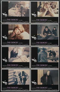 """The Exorcist (Warner Brothers, 1973). Lobby Card Set of 8 (11"""" X 14"""") and Pressbook (16 Pages, 11"""" X 14&q..."""