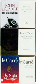 Books:Mystery & Detective Fiction, John Le Carré. SIGNED. Group of Three First Editions. London:Hodder and Stoughton, [various dates]. All three are signed ...(Total: 3 Items)