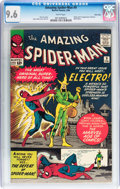 Silver Age (1956-1969):Superhero, The Amazing Spider-Man #9 Twin Cities pedigree (Marvel, 1964) CGC NM+ 9.6 White pages....