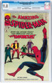 The Amazing Spider-Man #10 Twin Cities pedigree (Marvel, 1964) CGC NM/MT 9.8 Off-white to white pages