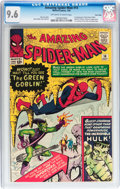 Silver Age (1956-1969):Superhero, The Amazing Spider-Man #14 Twin Cities pedigree (Marvel, 1964) CGC NM+ 9.6 Off-white to white pages....