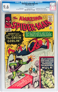 The Amazing Spider-Man #14 Twin Cities pedigree (Marvel, 1964) CGC NM+ 9.6 Off-white to white pages