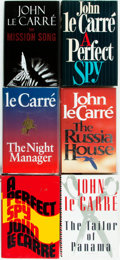 Books:Mystery & Detective Fiction, John le Carré. Group of Six First Editions. Various publishers anddates. Original bindings and dust jackets. Varying degree...(Total: 6 Items)