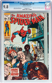 The Amazing Spider-Man #99 (Marvel, 1971) CGC NM/MT 9.8 Off-white to white pages