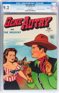 Golden Age (1938-1955):Western, Four Color #75 Gene Autry - Vancouver pedigree (Dell, 1945) CGC NM-9.2 White pages....