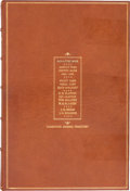 "Western Expansion, The 1880-1881 Signature Book of the Pima County Bank: A ""HolyGrail"" Item for Advanced Collectors of Tombstone, Arizona Artifa..."