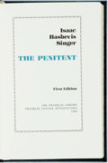 Books:Literature 1900-up, Isaac Bashevis Singer. SIGNED. The Penitent. Franklin Center: The Franklin Library, 1983. First edition. Publisher's...