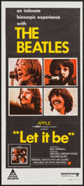 """Movie Posters:Rock and Roll, Let It Be (United Artists, 1970). Australian Daybill (13.5"""" X 30"""").Rock and Roll.. ..."""
