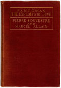 Books:Mystery & Detective Fiction, Pierre Souvestre and Marcel Allain. The Exploits of Juve.New York: Brentano's, 1917. First American edition. Publis...