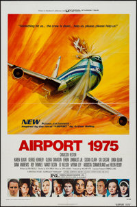 "Airport 1975 & Other Lot (Universal, 1974). One Sheets (2) (27"" X 41""). Action. ... (Total: 2 Items)"