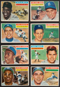 Baseball Cards:Sets, 1956 Topps Baseball Near Set (334/340). ...